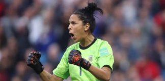 Vanina Correa y el seleccionado argentino