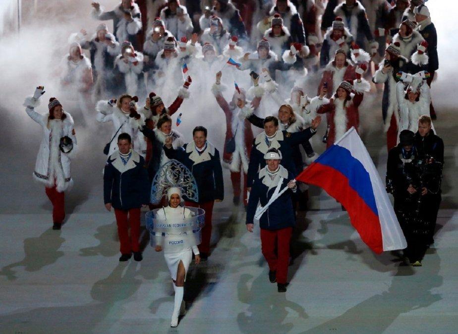 Rusia fue excluida de los Juegos Olímpicos
