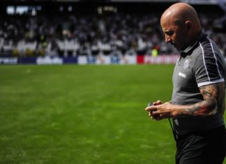 JJorge Sampaoli renunció al Santos