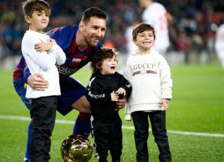 Messi-hijos
