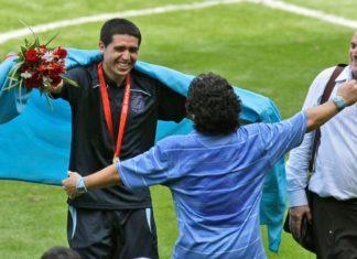 Riquelme Maradona